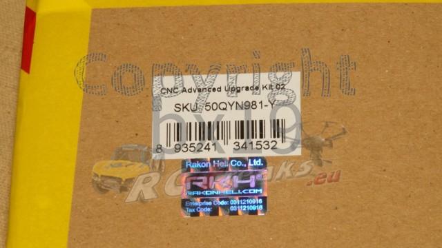 CNC Advanced Upgrade Kit 02 (Gold) - Yuneec Q500