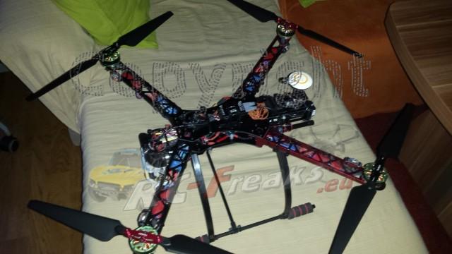 Fertigstellung des Alien X 600