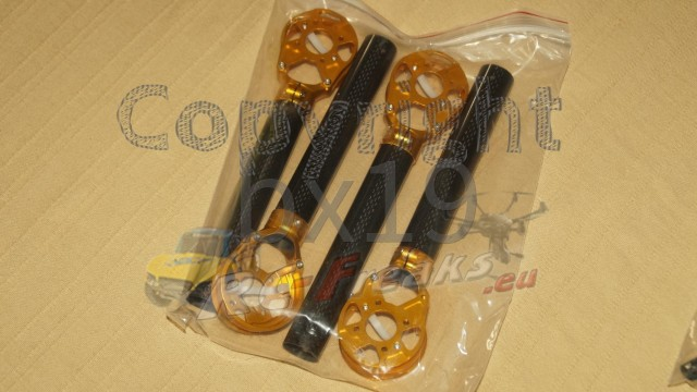 CNC Advanced Upgrade Kit 02 (Gold) - Yuneec Q500
